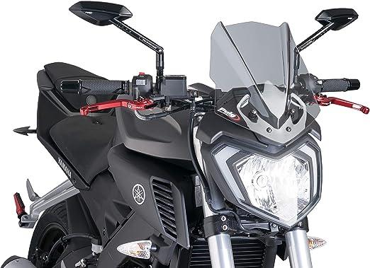 Cuasting Pare-brise de moto avec vis pour MT-125 MT125 2015-2020