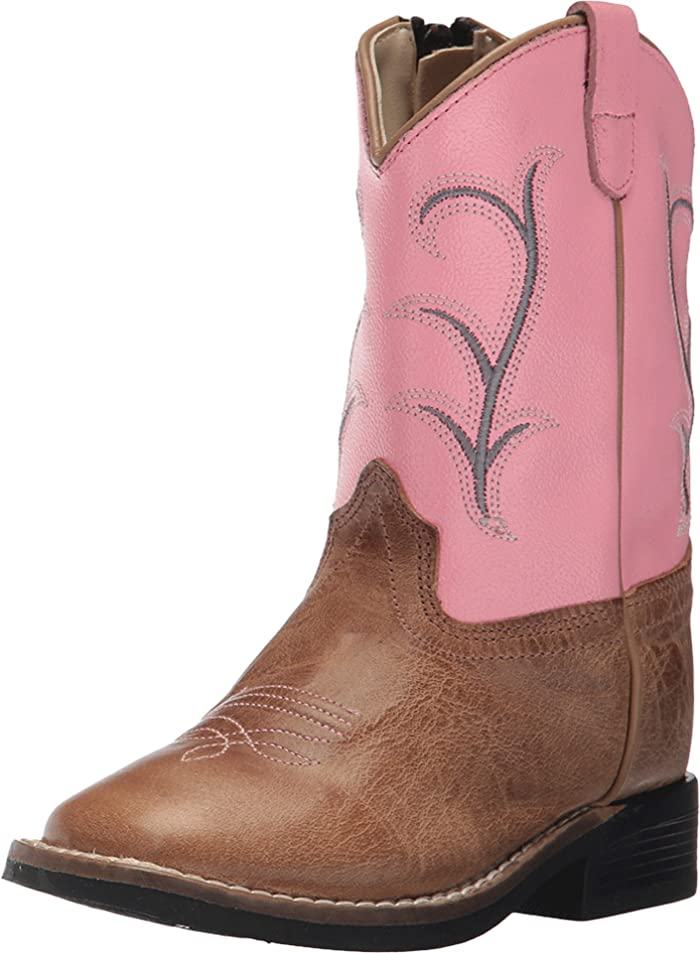 4bbb3813c9c Old West Kids Boots Broad Square Toe (Toddler) | Zappos.com