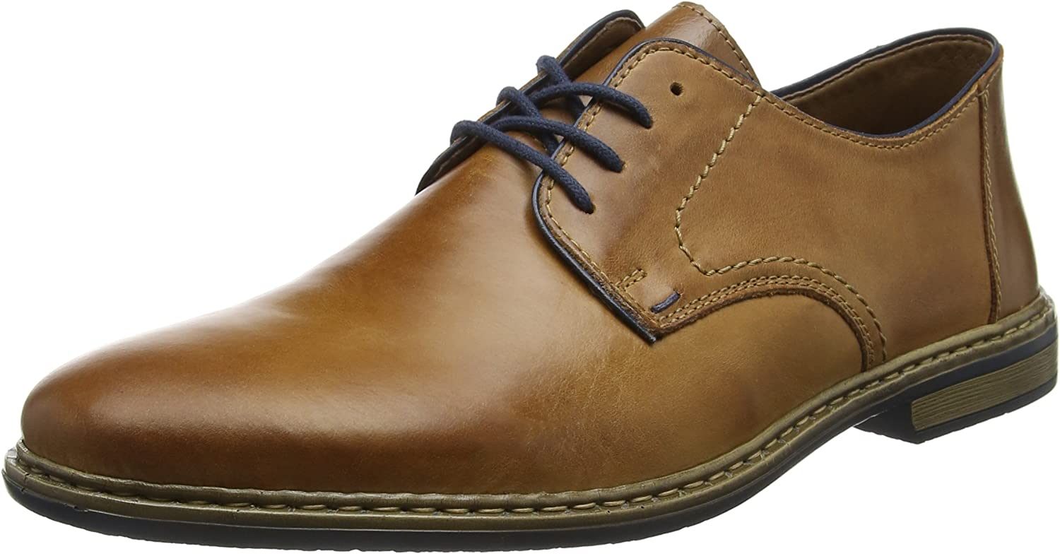 Rieker Mens Diego 13422 Leather shoes