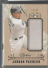 2014 Topps Triple Threads Baseball Jordan Pacheco Jersey Card # 13/36