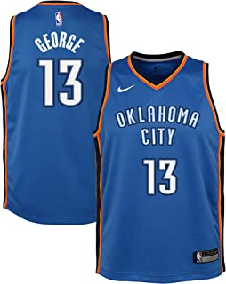 b3a905ddb Nike Youth Large (14-16) Paul George Oklahoma City Thunder Icon Edition  Jersey
