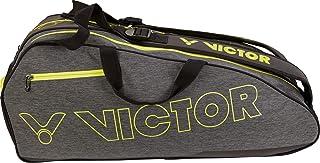 VICTOR Badmintontasche/Squashtasche/Tennistasche Doublethermobag 9110 Grey/Yellow…