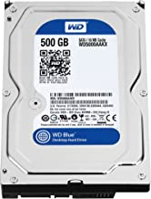 WD Blue 500GB Desktop Hard Disk Drive - 7200 RPM SATA 6 Gb/s 16MB Cache 3.5 Inch - WD5000AAKX (Renewed)