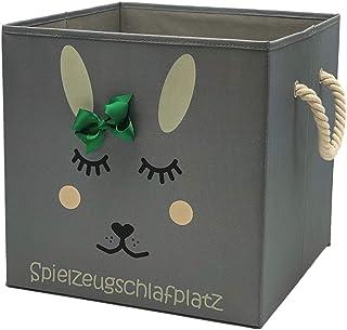 Sappralot Boîte de rangement/panier de rangement pour enfants/jolie boîte à jouets pratique pour toutes les chambres d'enf...