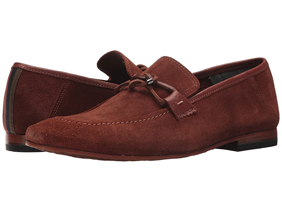 Ted Baker Hoppken (Dark Tan Suede) Men