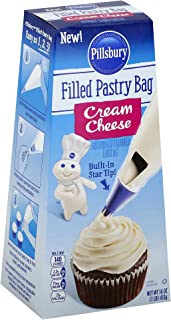 Pillsbury Pastry Bag Frosting, Cream Cheese, 6Count