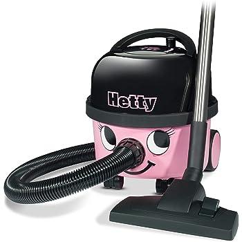 Hetty HET160 Bagged Cylinder Vacuum, 620 W, 6 Litres, Pink