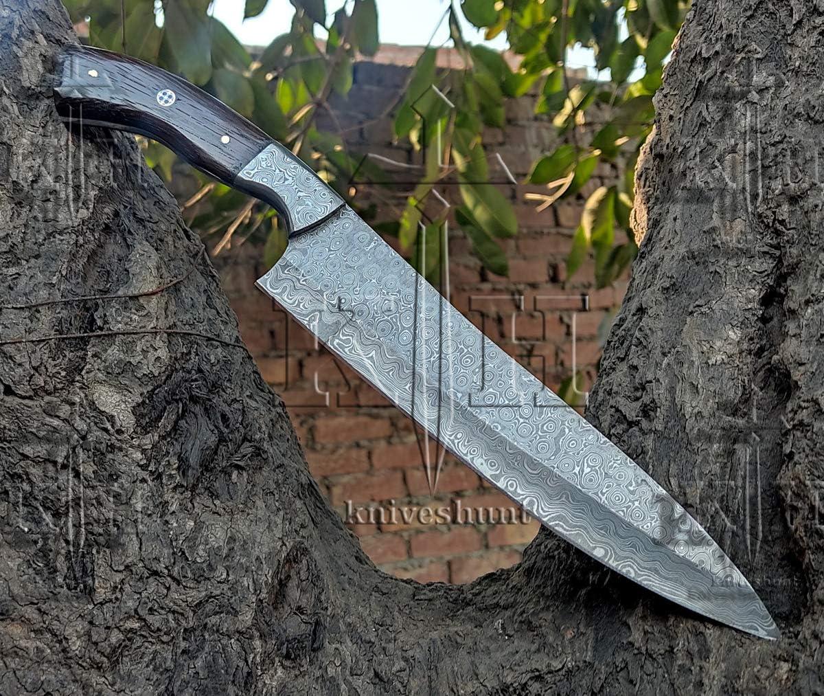 Custom 2021 new Max 54% OFF handmade Damascus knife-13 knife Ste Chef Inches