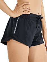 CRZ YOGA Quick-Dry Loose Running Shorts Sports Workout Shorts for Women Gym Athletic Shorts with Pocket - 2.5 Inches