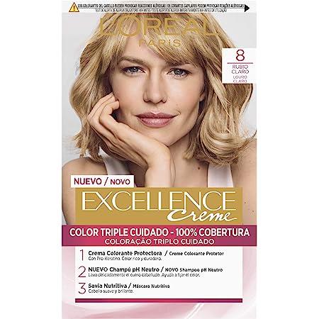 LOreal Paris Excellence Creme Tinte Permanente Tono 8.1 ...