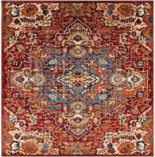 Luxe Weavers Howell Collection Red Oriental 8x10 Area Rug
