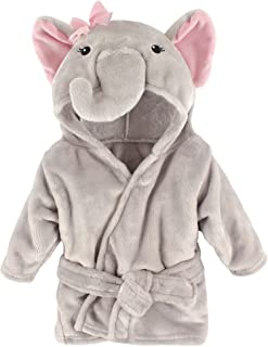 Hudson Baby Unisex Baby Plush Animal Face Robe, Pretty...