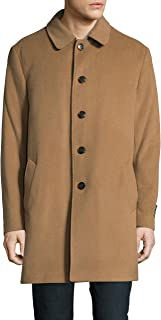 Men's 3/4 Classic-Fit Down-Filled Wool Overcoat