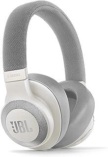 JBL E65BTNC Over Ear Bluetooth Kopfhörer in Weiß - Active Noise Cancelling Headphones mit JBL Signature Sound - Musikgenus...