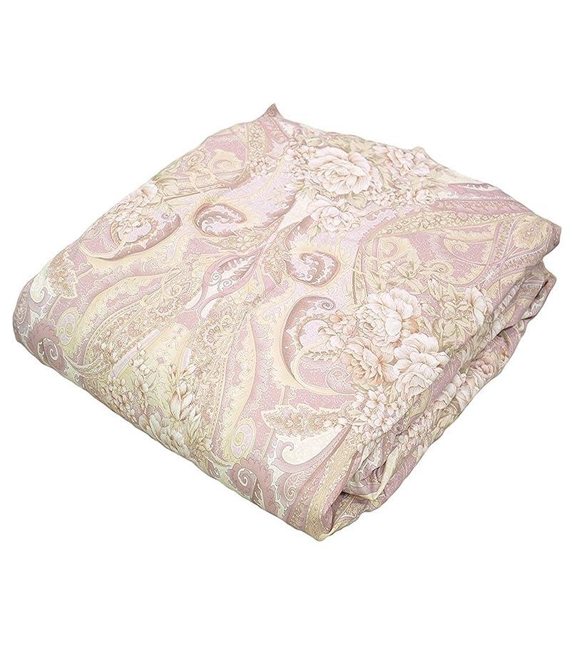 剥離ストロー眠り日本製 ファイングレード ホワイトダックダウン85%使用 洗える羽毛肌掛け布団 シングル ピンク 629665BO