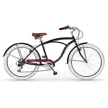 MBM Honolulu - Bicicleta de Paseo para Hombre de 6 velocidades ...