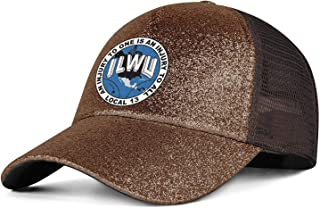 WJINX ILWU-Local-13 Ponytail Messy High Buns Trucker Ponycaps for Women Adjustable Glitter Dad Caps