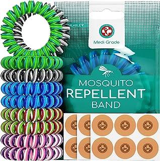 Bracelets Anti Moustique [10 Pièces] et Patchs [120 Unités] – Bracelet Enfant et..
