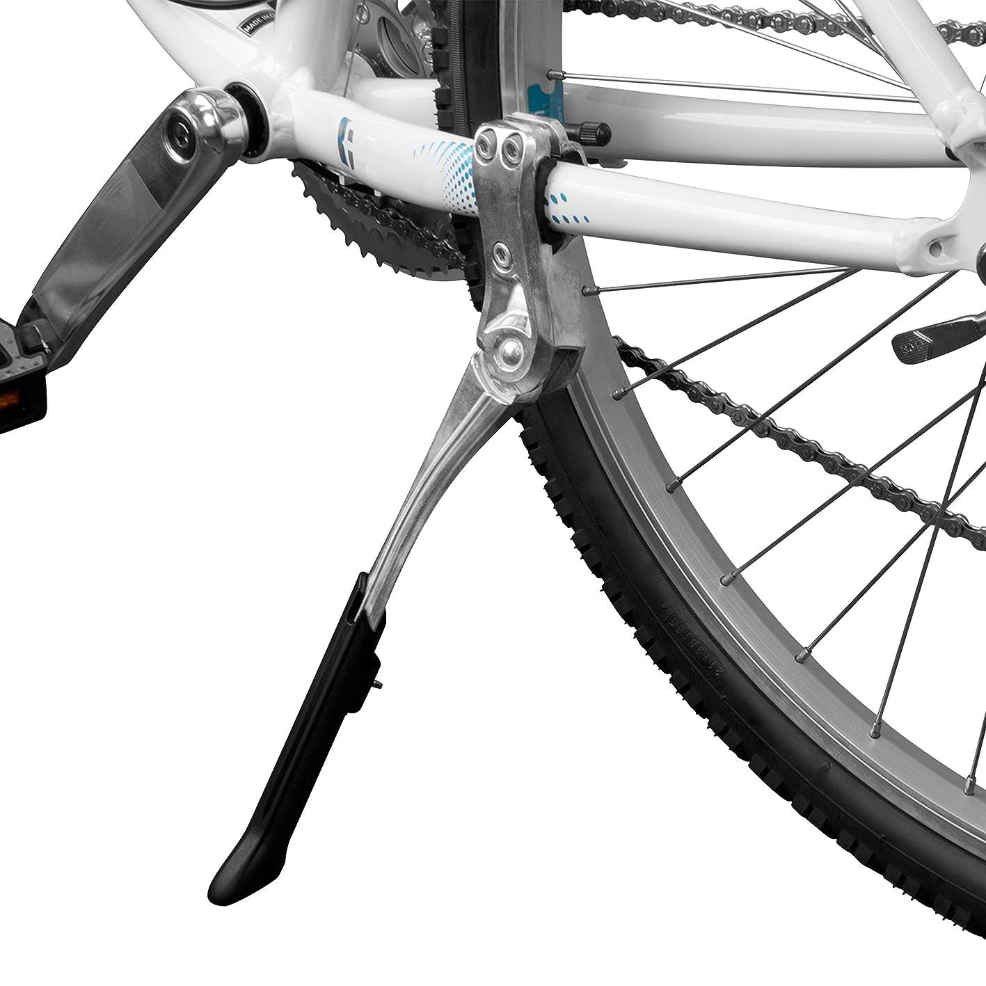 """違う等々つらいBV(ビーブイ) 自転車スタンド キックスタンド 長さ調節可能24""""~28""""(60~71CM)対応 チェーンステー固定型"""