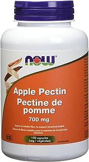 NOW Apple Pectin 700mg 120 Veg Capsules, 50 g