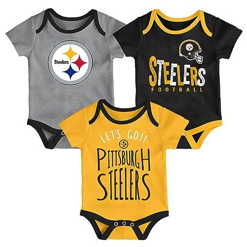 best sneakers 790ba 716b4 Infant Steelers Apparel: Amazon.com