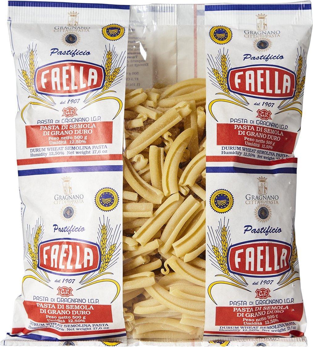 Faella Caserecci Pasta - IGP Gragnano - 1.1 lb