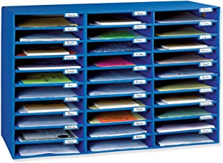 "Best Classroom Keepers Mailbox, 30-Slot, Blue, 21""H x 31.625""W x 12.75""D Review"