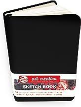 Royal Talens – Art Creation Hardback Sketchbook – 80 Sheets – 140gsm – 9 x 14cm – Black Cover