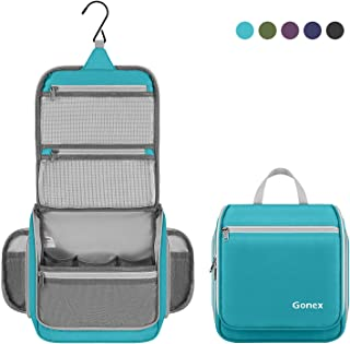 Gonex Hanging Toiletry Bag Travel Organizer Blue