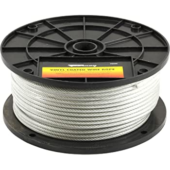 """250 200 100 1000 ft 150 Galvanized Aircraft Cable Wire Rope 3//8/"""" 7x19-50"""