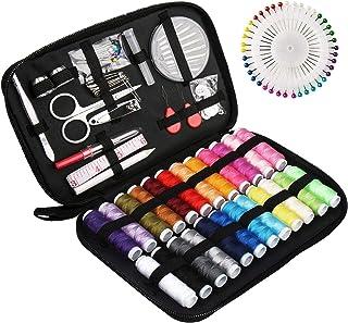 Kit Couture Complet 130 pcs avec Boîte, Sets et Kits de Couture,avec Accessoires de Couture, et Pratique pour Les Débutant...