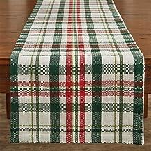 Park Designs 9985-130 Grace Plaid Table Runner, 54-inch Length