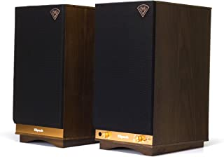 Klipsch The Sixes Powered Monitor - Walnut (Pack of 1)