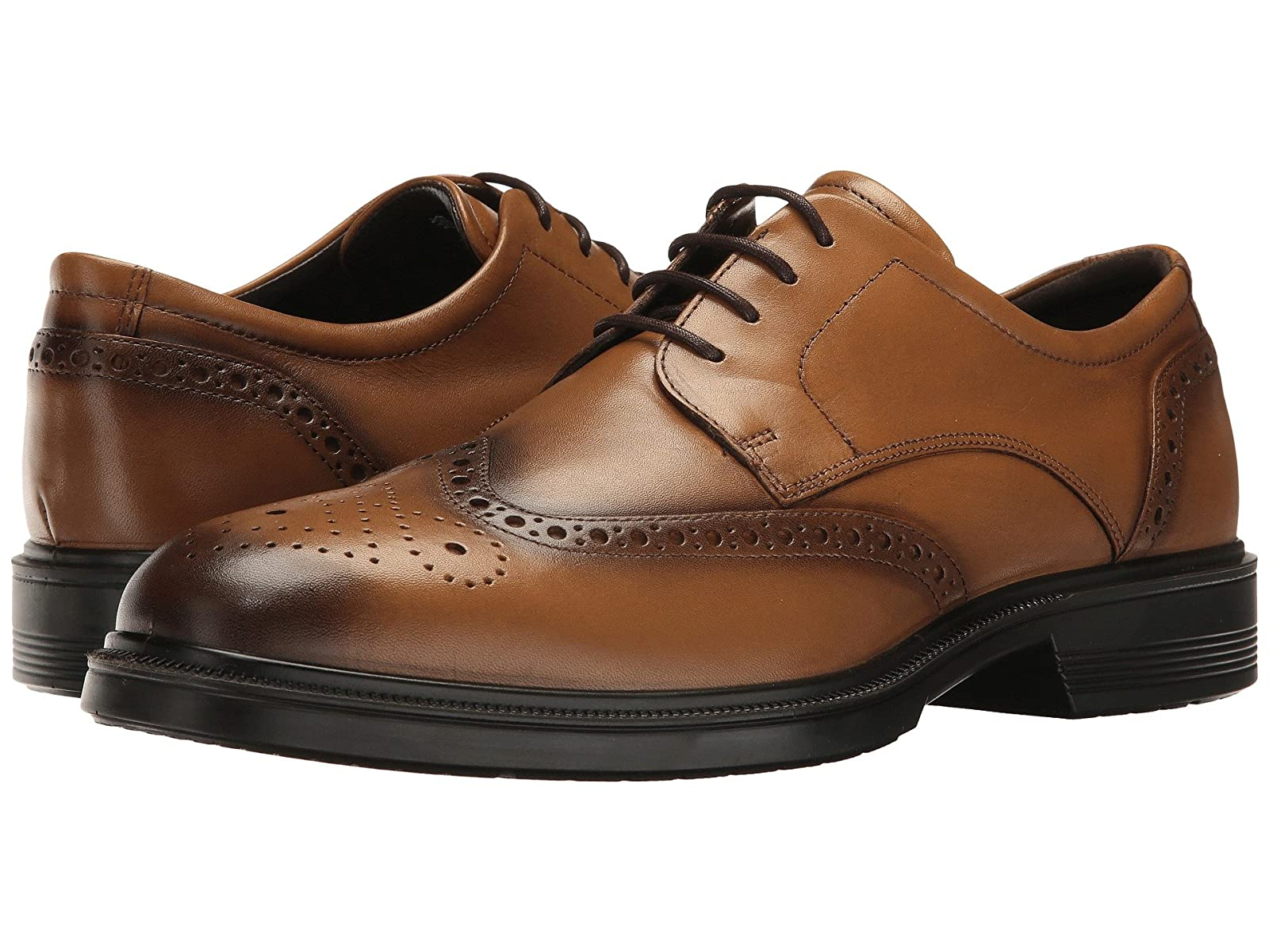 ECCO Lisbon Brogue TieAtmospheric grades have affordable shoes