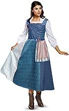Disney Women's Belle Village Dress Deluxe Adult Costume