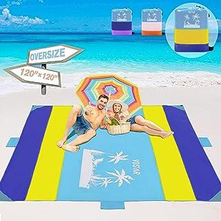 VDSTAR Beach Blanket, Large Waterproof Sandproof Beach...
