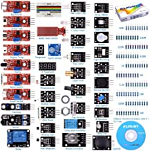 Kompatibel mit Arduino Sensor Starter Kit kuman 37 in 1 Sensormodul Bausatz for Raspberry..