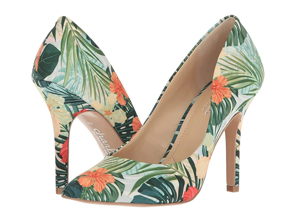 Charles by Charles David Maxx (Green Multi Tropical) High Heels