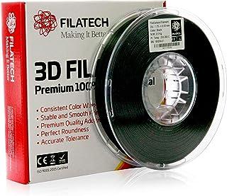 Filatech 3D Printing FilaCarbon Filament, 1.75 mm +/- 0.03 mm, 0.5 Kg Spool, 100% Virgin Material, Made in UAE Black AC110