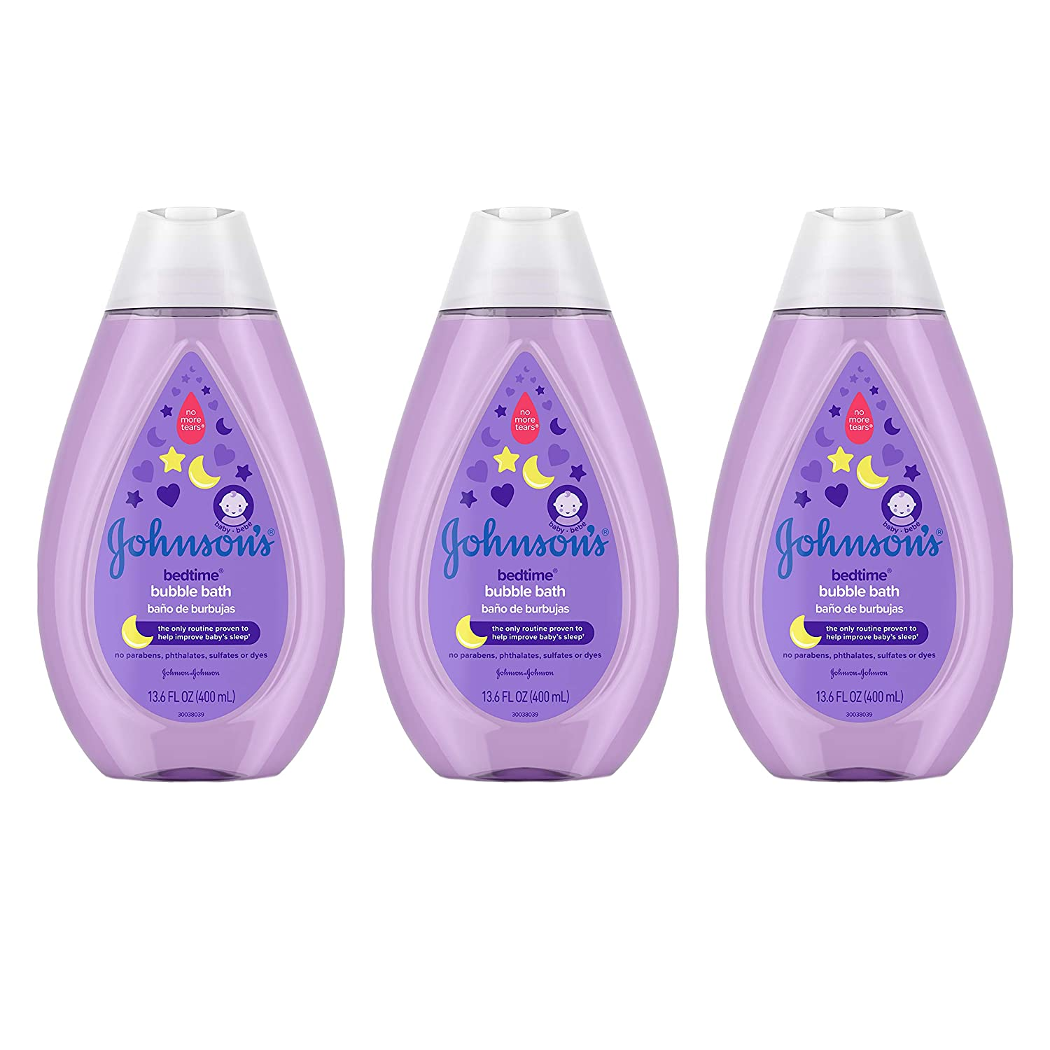 Large special price !! Johnson's Bedtime Limited price sale Baby Bubble Bath NaturalCalm Aromas Hypo with