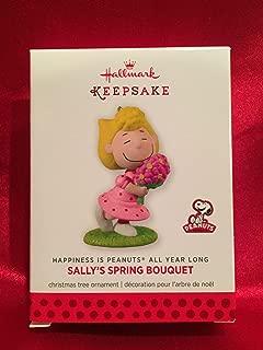 Hallmark Keepsake Ornament The Peanuts Gang Sallys Spring Bouquet 10th in Series 2013