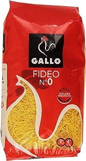 comprar comparacion Gallo - Pastas cortas - Fideo No 0, Paquete 500 g - , Pack de 6