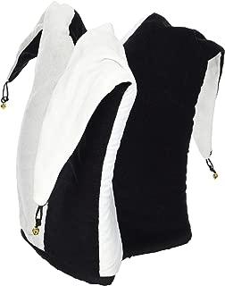 BZANYÂ Black and White Jester Hat