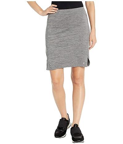 Skirt Sports Happy High Waist Skirt (Smoky Heather) Women
