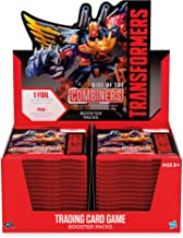 Transformers TCG: Rise of The Combiners Booster Box   30 Booster Packs   8 Transformers Cards Per Booster Pack