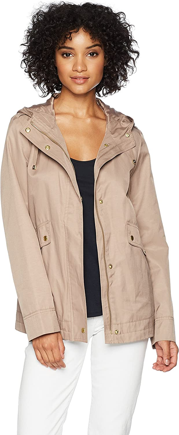 Cole Haan Women's Aline Jacket with Attached Hood