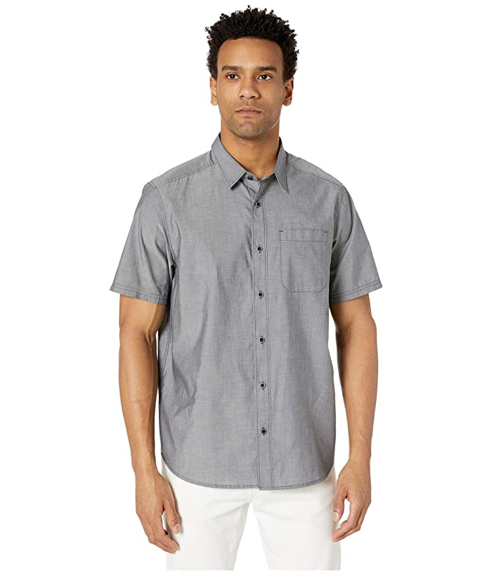 5.11 Tactical  Carson Short Sleeve Shirt (Volcanic Heather) Mens Clothing