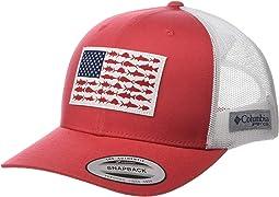 PFG Mesh™ Snapback Fish Flag Ball Cap
