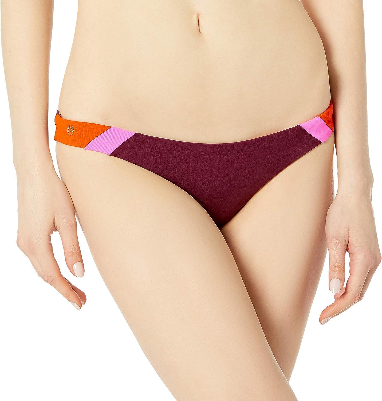 Maaji Women's Standard Vintage Grape Flirt Bikini Thin Side Cheeky Cut