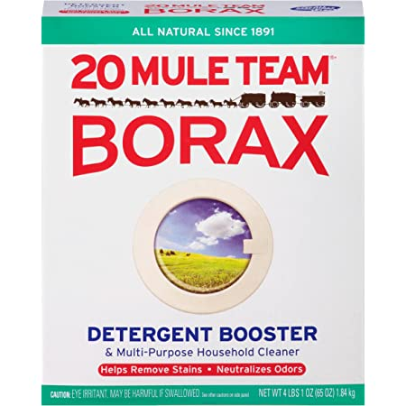 4LB BOX 20 MULE TEAM BORAX NATURAL LAUNDRY BOOSTER HOUSEHOLD CLEANER